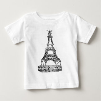 Calavera of the Eiffel Tower c. late 1800's T Shirts