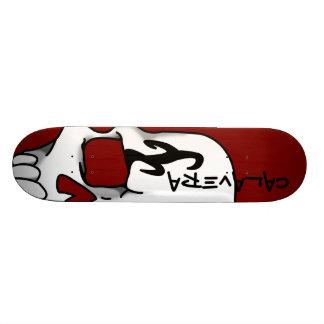 Calavera (Red) Skateboard Deck