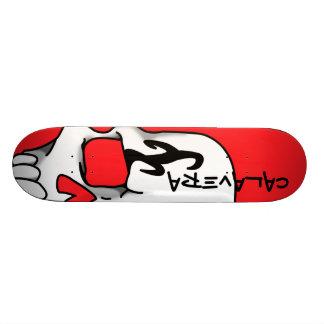 Calavera (Ruby) Skateboard Deck