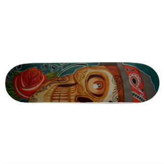 calavera skateboard decks