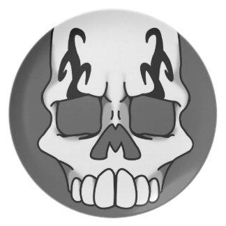 Calavera (Smoke) Plate