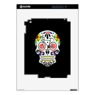 Calavera - Sugar Skull Bike iPad 2 Skin