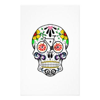 Calavera - Sugar Skull Bike Stationery