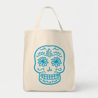 Calavera Sugar Skull Tote Bag