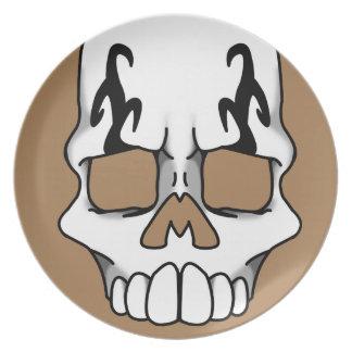 Calavera (Tan) Plate