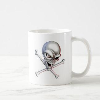 calavera tazas de café