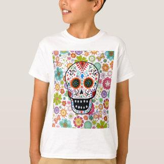 Calavera White by Prisarts T-Shirt