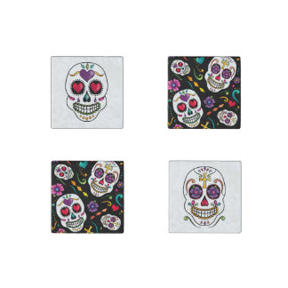 Calaveras Celebration Stone Magnet