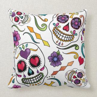 Calaveras Celebration throw pillow