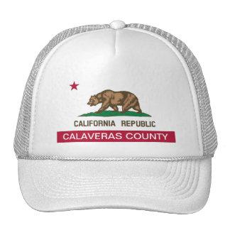 Calaveras County California Trucker Hat