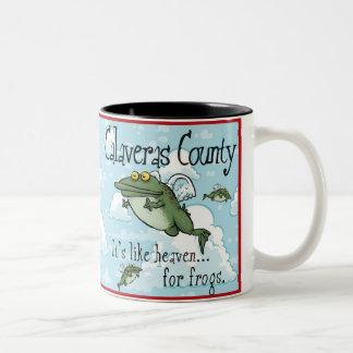 Calaveras County Two-Tone Coffee Mug
