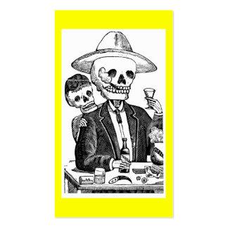 Calaveras de Guadalajara México Plantilla De Tarjeta Personal