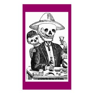 Calaveras de Guadalajara México Plantillas De Tarjetas De Visita