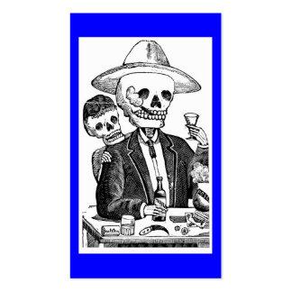 Calaveras de Guadalajara México Tarjeta De Negocio