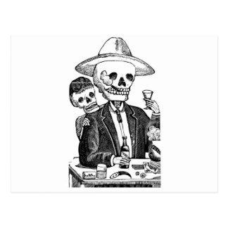 Calaveras de Guadalajara, México Tarjetas Postales