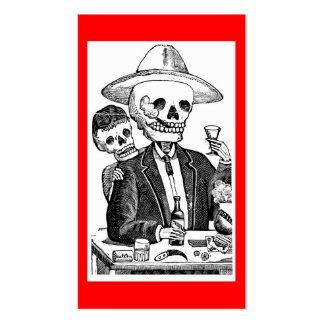 Calaveras from Guadalajara, Mexico Business Card