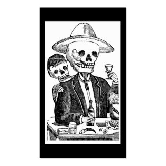 Calaveras from Guadalajara, Mexico Double-Sided Standard Business Cards (Pack Of 100)