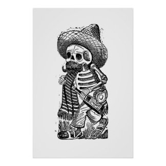 Calaveras From the Heap by José Guadalupe Posada Poster