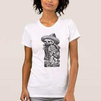 Calaveras from the Heap by José Guadalupe Posada Tee Shirt