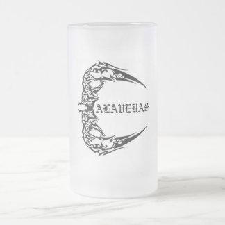 CALAVERAS FROSTED GLASS BEER MUG