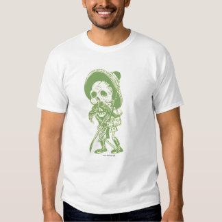 Calaveras greem t shirt