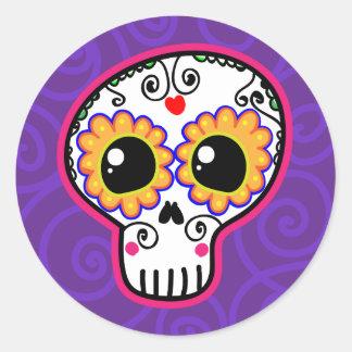 Calaverita Round Stickers