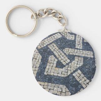 Calcada Portuguese, Portuguese Pavement Keychain