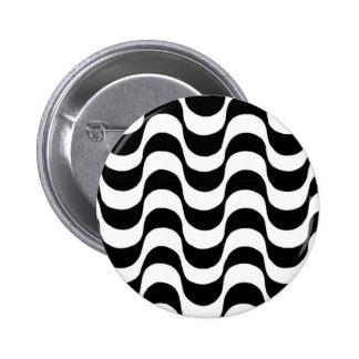 Calçadão de Copacabana Rio de Janeiro Brasil Pinback Button