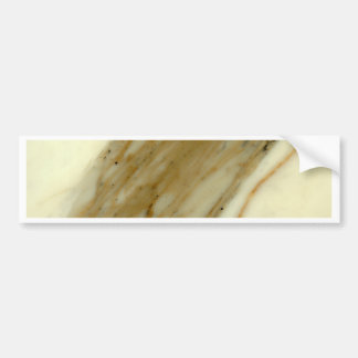 Calcatta marble bumper sticker