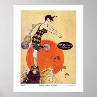 Calcetería de McCallum del art déco Impresiones