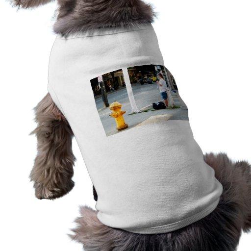 Calcetero de la calle playera sin mangas para perro