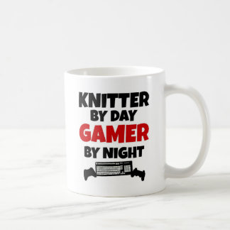 Calcetero por videojugador del día por noche taza de café