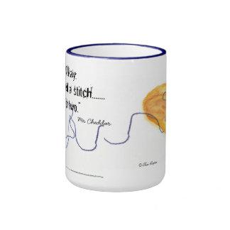 Calceteros de Sr. Cheddar Cat Cup For Tazas