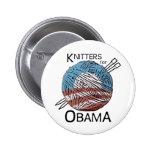 Calceteros para el botón #1 de Obama Pins