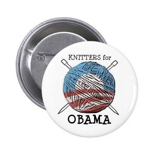 Calceteros para el botón #2 de Obama Pin
