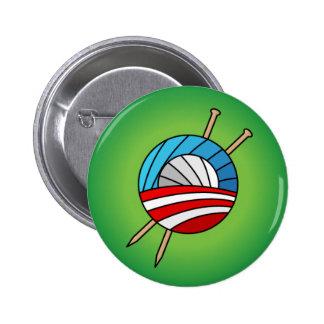 Calceteros para el botón de Obama Pin