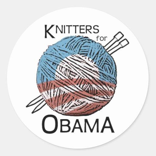 Calceteros para los pegatinas #1 de Obama Pegatina Redonda