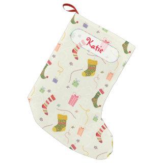 calcetines divertidos calcetín navideño pequeño