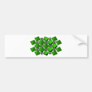 Calcite molecule bumper sticker