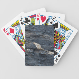 Calcite veins in tectonized black clay shales bicycle playing cards