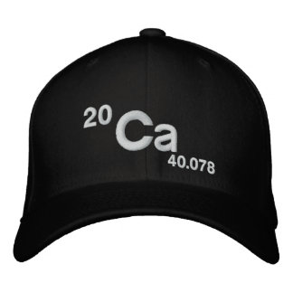 Calcium Does A Body Good Embroidered Baseball Caps