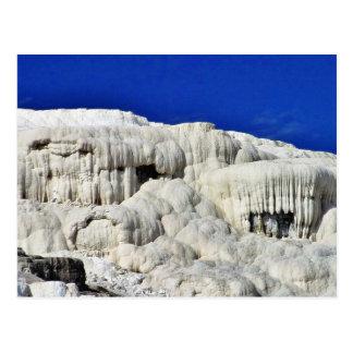 Calcium Mammoth Hot Springs Postcard