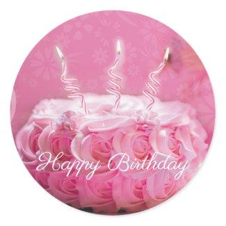 Calcomanía Cumpleaños - Personalizable