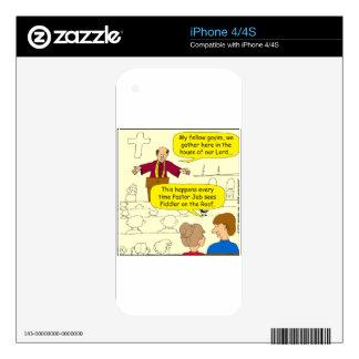CALCOMANÍA PARA iPhone 4S