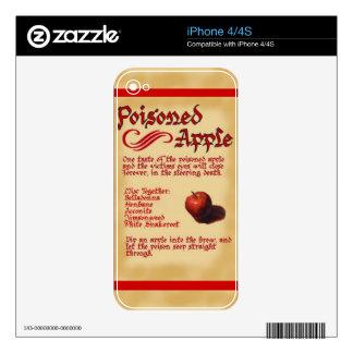 CALCOMANÍAS PARA EL iPhone 4