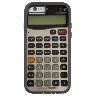 Calculadora arquitectónica divertida funda de iPhone 6 tough xtreme