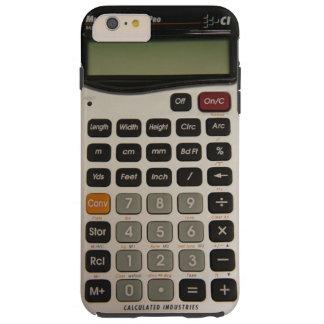Calculadora arquitectónica divertida funda para iPhone 6 plus tough