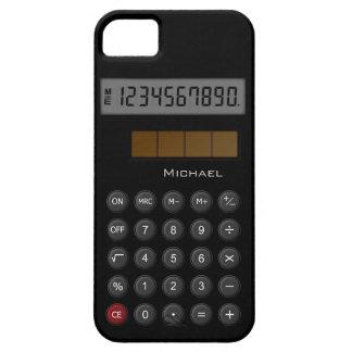 Calculadora de la escuela vieja iPhone 5 funda