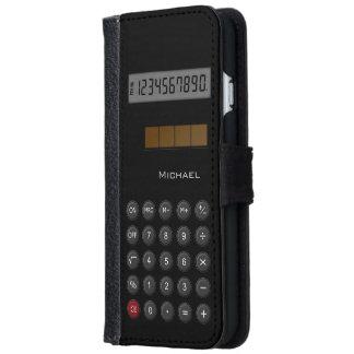 Calculadora del vintage carcasa de iPhone 6