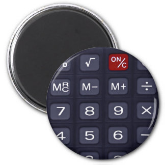 calculadora imán de frigorífico
